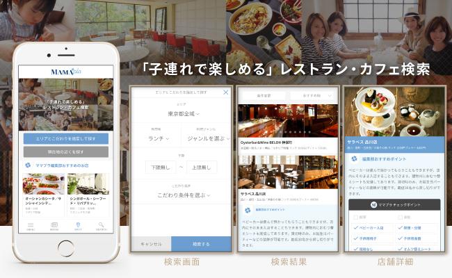 レストラン・カフェの情報検索サービス