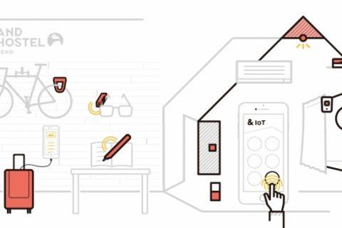 日本初のIoTデバイスを集結させたスマートホステル「&AND HOSTEL」3号店が東京・上野に5月中旬にオープン