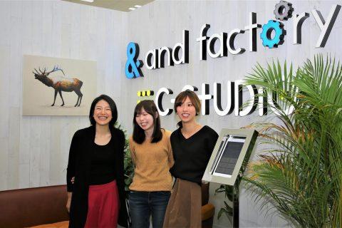 and factory株式会社「Google Women Will」のサポーター企業として参加