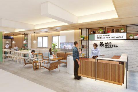 近未来のIoT空間が楽しめるスマートホステル「&AND HOSTEL」が続々誕生!秋葉原と神田に2ヶ月連続で新規オープン!