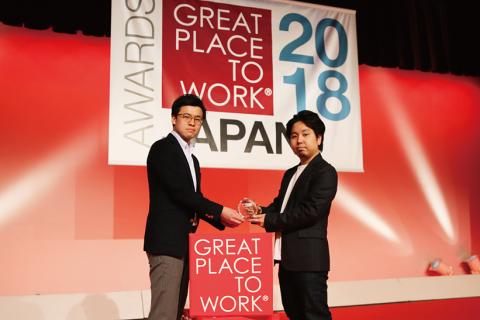 and factoryは2018年「働きがいのある会社」ランキングにてベストカンパニーとして選出されました。